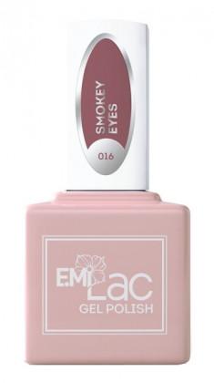 E.MI 016 гель-лак для ногтей, Смоки айз / E.MiLac 6 мл