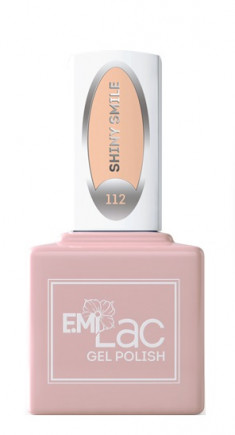 E.MI 112 SD гель-лак для ногтей, Сверкающая улыбка / E.MiLac 6 мл