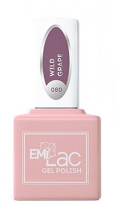 E.MI 080 RT гель-лак для ногтей, Дикий виноград / E.MiLac 6 мл