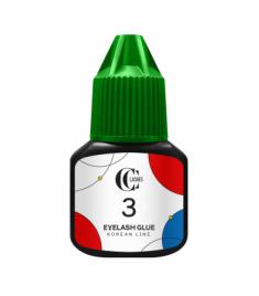 Клей для наращивания ресниц CC Lashes 3 Eyelash glue Korean line 5 г