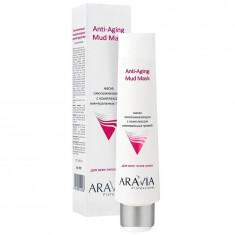 Aravia Маска омолаживающая с комплексом минеральных грязей Anti-Aging Mud Mask 100мл Aravia professional