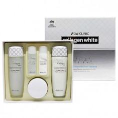 3W Clinic Осветление Набор для лица Collagen whitening skin care items 3 set