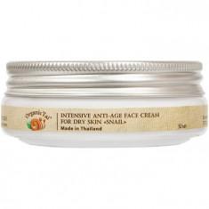 OrganicTai Крем для лица антивозрастной для нормальной и сухой кожи Улитка 50мл