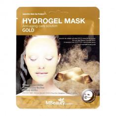 MBeauty Антивозрастная гидрогелевая маска с золотом 25г