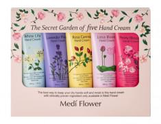MEDI FLOWER Набор подарочный кремов для рук Цветочный сад 5 х 50 г