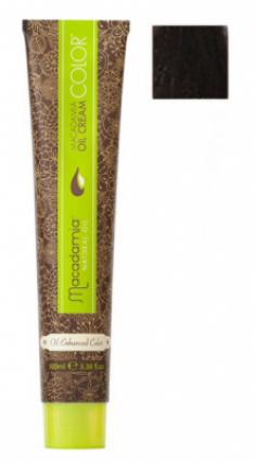 Краска для волос Macadamia Oil Cream Color 4.1 СРЕДНИЙ ПЕПЕЛЬНЫЙ КАШТАНОВЫЙ 100мл