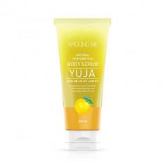 Скраб для тела с экстрактом цитрона WELCOS AROUND ME Natural Perfume Vita Body Scrub Yuja 200мл