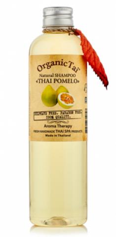 Натуральный шампунь для волос с маслом тайского помело Organic Tai Natural Shampoo Thai Pomelo 260 мл