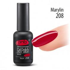 PNB 208 гель-лак для ногтей / Gel nail polish PNB 8 мл
