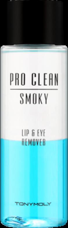 Средство для снятия макияжа с губ и глаз Tony Moly Pro Clean Smoky Lip&Eye Remover 100мл