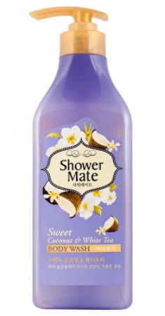 Гель для душа Кокос и белый чай KeraSys Shower mate weet coconut & white tea 550мл