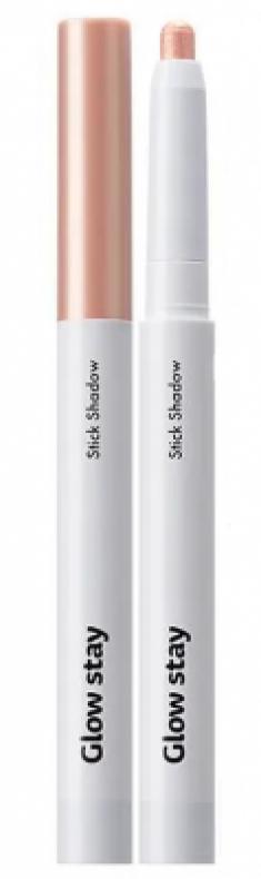 Кремовые тени-стик для век THE SAEM Glow Stay Stick Shadow BE01 Slip Beige
