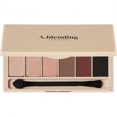 Тени для век ESTHETIC HOUSE A.blending Pro Eyeshadow Palette Nude Temptation 2г*6шт