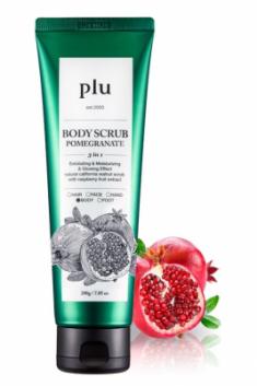 Скраб для тела с гранатом PLU Body scrub pomegranate 200г