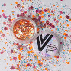 Vogue Nails, Блестки для ногтей Luminous №6